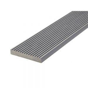 HD Deck 150 Composite Decking Fascia Board Silver - 3600 x 74 x 11mm