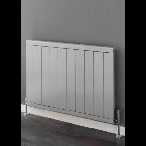 Supplies4Heat Huxley Horizontal Aluminium Radiator - White