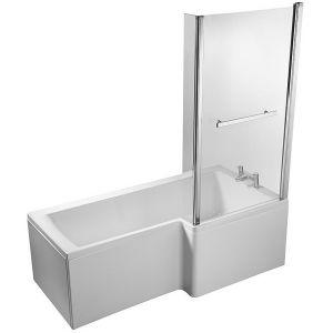 Image for Ideal Standard Concept 150cm x 85cm Square Right Hand Idealform Plus Shower Bath