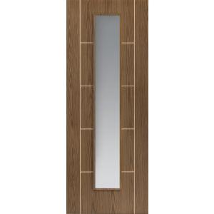 Image for JB Kind Soft Walnut Painted Mocha Glazed Pre-Finished Internal Door