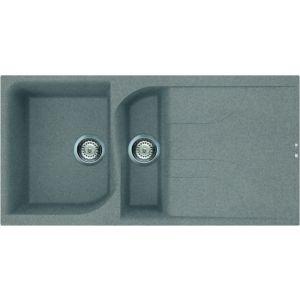 Image for Reginox Elleci Ego 475 Granite Kitchen Sink Titanium EGO475 TT