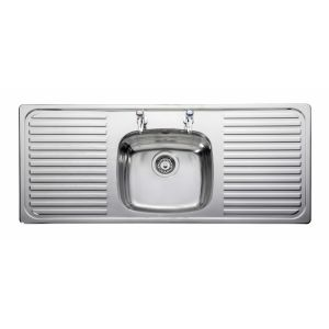 Image for Leisure Linear LR1160 1.0 Bowl 2TH Stainless Steel Kitchen Sink