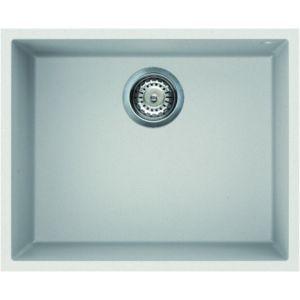 Image for Reginox Elleci Quadra 105 Granite Kitchen Sink White QUADRA105 W