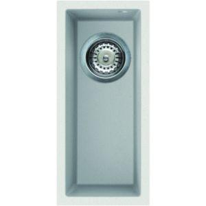 Image for Reginox Elleci Quadra 50 Granite Kitchen Sink White QUADRA50 W