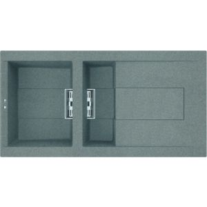 Image for Reginox Elleci Smart 480 Granite Kitchen Sink Titanium SMART475 TT