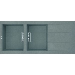 Image for Reginox Elleci Smart 500 Granite Kitchen Sink Titanium SMART500 TT