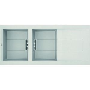 Image for Reginox Elleci Smart 500 Granite Kitchen Sink White SMART500 W