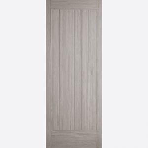 Image for LPD Light Grey Prefinished Somerset Internal Fire Door