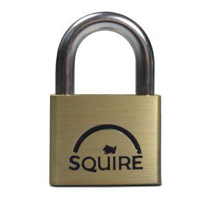 Squire 50mm Brass Padlock