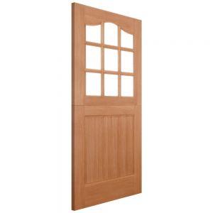 Image for LPD Stable 9 Lite Dowel Hardwood External Door