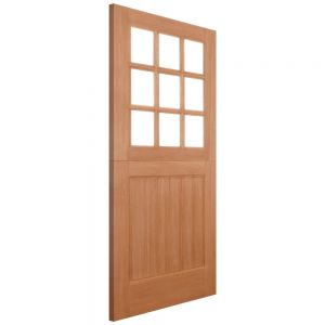 Image for LPD Stable 9 Light Straight Top Hwd External Door