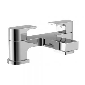 Image for Essential Dusk Bath Filler Tap, Pillar Mounted, Chrome