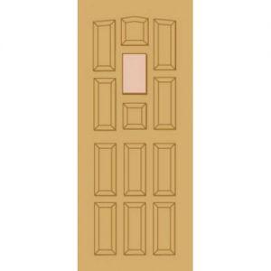 Image for LPD Elizabethan Hardwood Dowelled Exterior Door