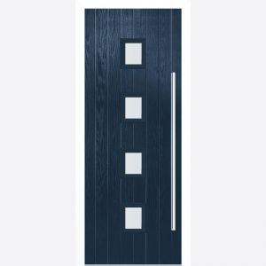 Image for LPD Milton Blue Glazed Door Set