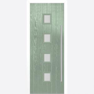 Image for LPD Milton Chartwell Green Glazed Door Set