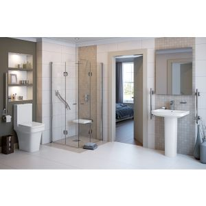 Image for Luxury Milan Suite complete with C/C WC and 1TH Basin with Full Pedestal