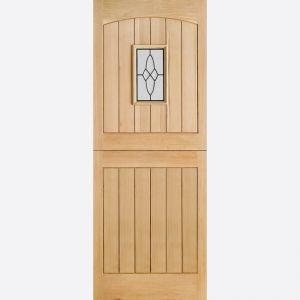 Image for LPD Cottage 1 Light Oak Exterior Stable Door