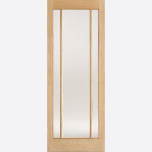 Image for LPD Lincoln Oak Glazed Internal Door