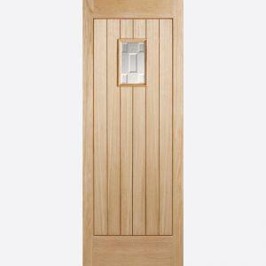 Image for LPD Suffolk Oak Double Glazed Exterior Door