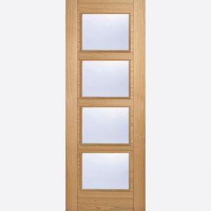Image for LPD Vancouver Oak 4 Lite Glazed Internal Door