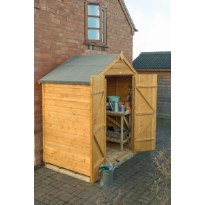 Image for Forest Overlap Dip Treated Apex Garden Shed - No Window - 6 x 4 ft