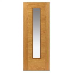 Image for JB Kind Oak Emral Pre-Finished Internal Door
