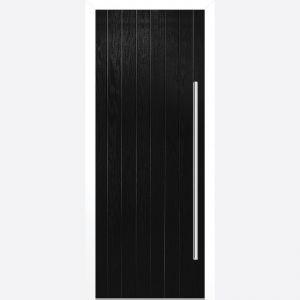Image for LPD Ogston Black Composite Door Set