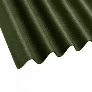 Image For Onduline Corrugated Green Bitumen Roof Sheet - 2m x 950mm