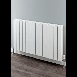 Supplies4Heat Paxton Horizontal Aluminium Radiator - White