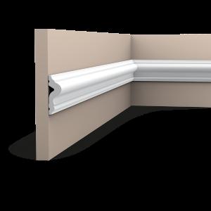 Orac Décor Plain Duropolymer Panel Moulding - 17 x 50 x 2000mm