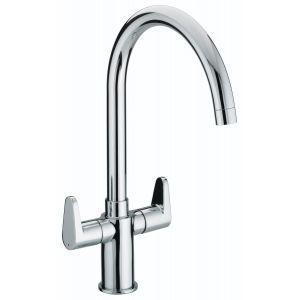 Bristan Quest Easyfit Kitchen Sink Mixer Tap with Swivel Spout - Chrome