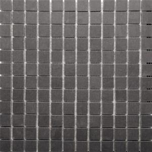 Image For RAK Lounge Anthracite Porcelain Mosaic Polished Tile Sheet- 300mm x 300mm