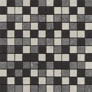RAK Lounge Mixed Porcelain Mosaic Unpolished Tile Sheet- 300mm x 300mm