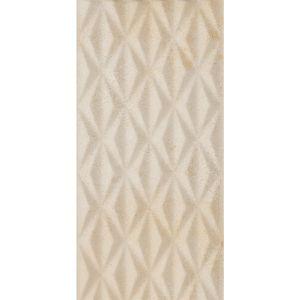 Image for RAK Wall Tile Metropole Beige Hive Decor 40 x 80cm