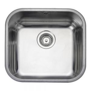 Image for Rangemaster Atlantic Classic 450mm 1 Bowl Stainless Steel Undermount Sink  - Reversible