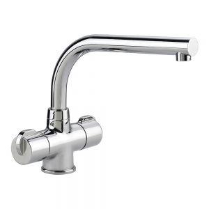 Image for Rangemaster Aquadisc 3 Monobloc Kitchen Sink Mixer Tap - Chrome
