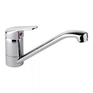 Image for Rangemaster Aquaflow Monobloc Kitchen Sink Mixer Tap - Chrome