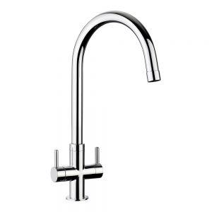 Image for Rangemaster Monorise Monobloc Kitchen Sink Mixer Tap - Chrome