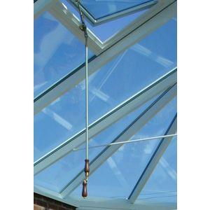 Image for Atlas Flat Roof Lantern Window Roof Vent Pole