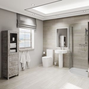 Image for The Eden Modern 5 Piece Shower Suite