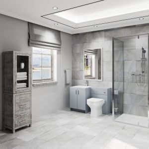 Image for The Trinity Modern 6 Piece Shower Suite