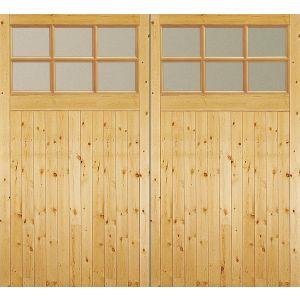 Image for JELD-WEN External Timber Side Hung GTG Factory Glazed Garage Door