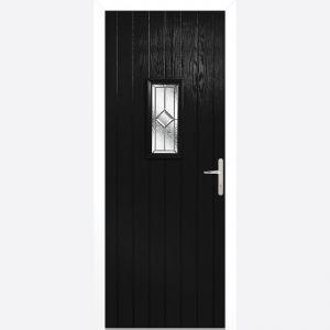Image for LPD Speedwell Black Glazed Door Set