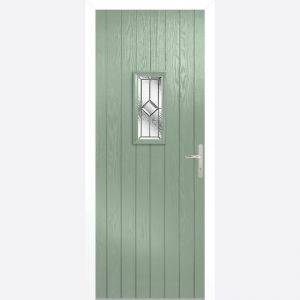 Image for LPD Speedwell Chartwell Green Glazed Door Set