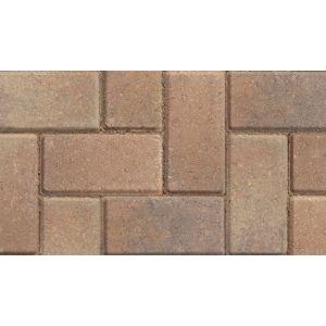 Image for Marshalls Standard Concrete Block Paving Bracken - 200X100X50mm (9.76m2)