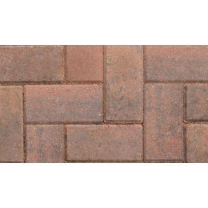 Image for Marshalls Standard Concrete Block Paving Brindle - 200X100X50mm (9.76m2)