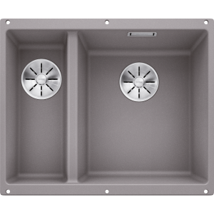 Image for BLANCO Kitchen Sink Subline 340/160-U Silgranit® Puradur® main Bowl Right - Alu Metallic