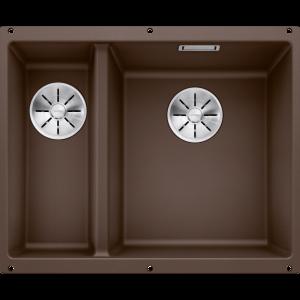 Image for BLANCO Kitchen Sink Subline 340/160-U Silgranit® Puradur® main Bowl Right - Coffee