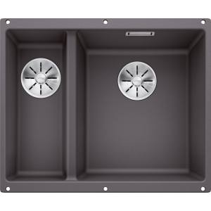 Image for BLANCO Kitchen Sink Subline 340/160-U Silgranit® Puradur® main Bowl Right - Rock Grey