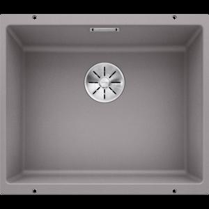 Image for BLANCO Kitchen Sink & Tap Pack Subline 500-U Silgranit® Puradur®  - Alu Metallic